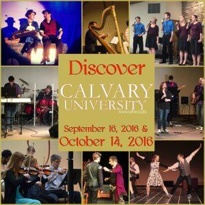 We Want You at Calvary University