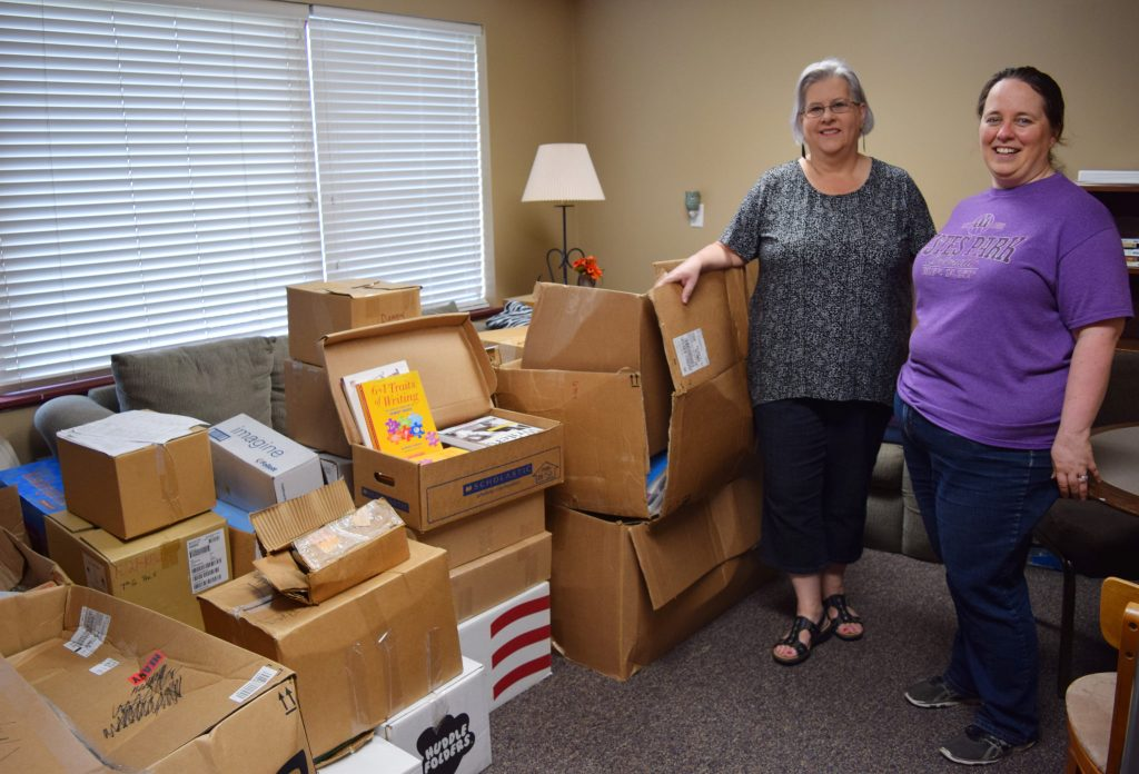 Family Literacy Program Receives Book Donation