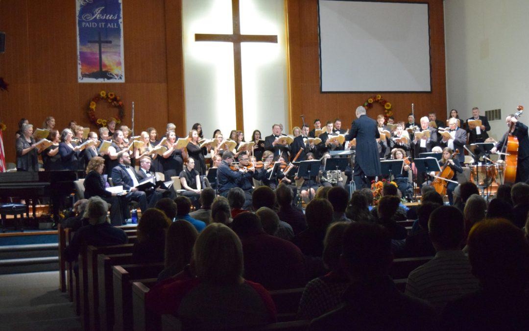 Fall 2018 Calvary Masterworks Chorus
