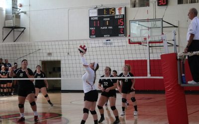 Calvary Volleyball Outlasts Union 3-1