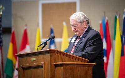 President Emeritus Chipchase Ministering Across the Country