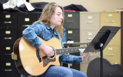 Kathryn Phillips: a music department graduate assistant