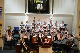 Musicians Choir and Pastor 2