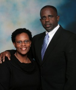 Senior Pastor Ray Ricketts and First Lady Arnett Ricketts