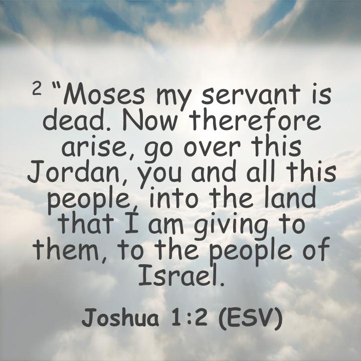 Joshua 1;2