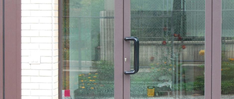 Lorenzo Calvitti Serramenti  Porte alluminio taglio