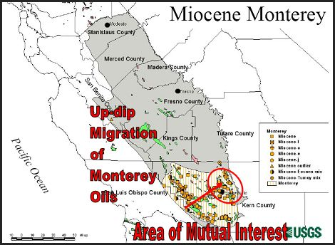 CA Boasts Of US Shale Oil Reserves CalWatchdogcom - Us shale oil reserves map