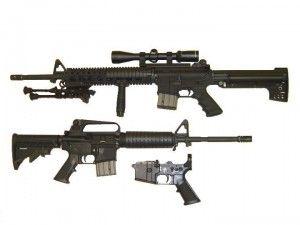 AR-15 Rifle - wikipedia