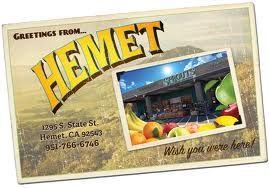 Hemet postcard