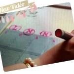 [Video]Back to school – DIY Agenda Planner – Calendrier perpétuel