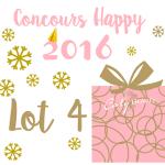 [Vidéo] Résultat Concours happy2016 Lot 4