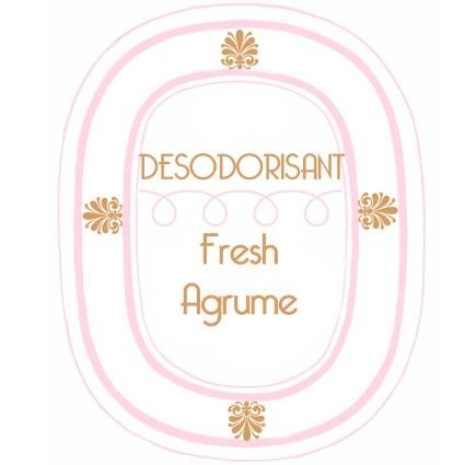 Etoqiette desodorisant