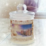 Bougie Warm Vanilla Winter – Yankee Candle like