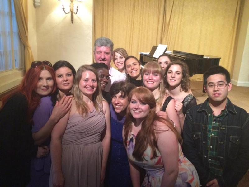 Les voix du CALYP -masterclass moulin d'Andé juin 2016