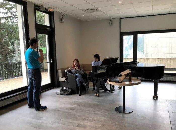 Masterclasse de chant à Geneve par Adeline Toniutti du CALYP 2