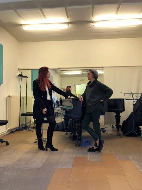 Adeline TONIUTTI du CALYP Centre d'Art Lyrique de Paris et Klara Gouël du Studio KODALY
