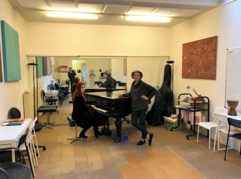 Cours de chant à Geneve au studio KODALY par Adeline Toniutti du CALYP