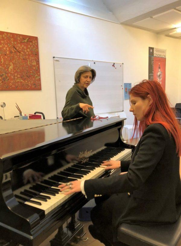 Cours de chant à Geneve par Adeline Toniutti du CALYP