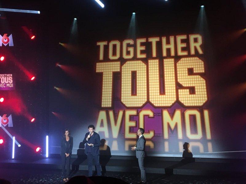 Emission Together Tous avec moi sur M6 avec Adeline Toniutti