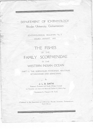 Books on the fishes of South Africa, Southern Africa fish