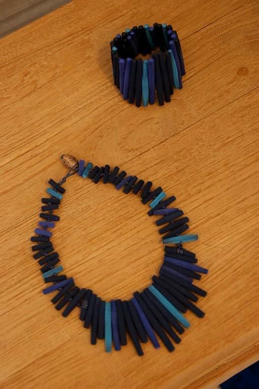 Collier et bracelet Tzuri Gueta