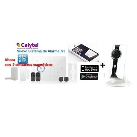 Nuevo Kit de Alarma Hogar G5 Plus con Cmara IP color