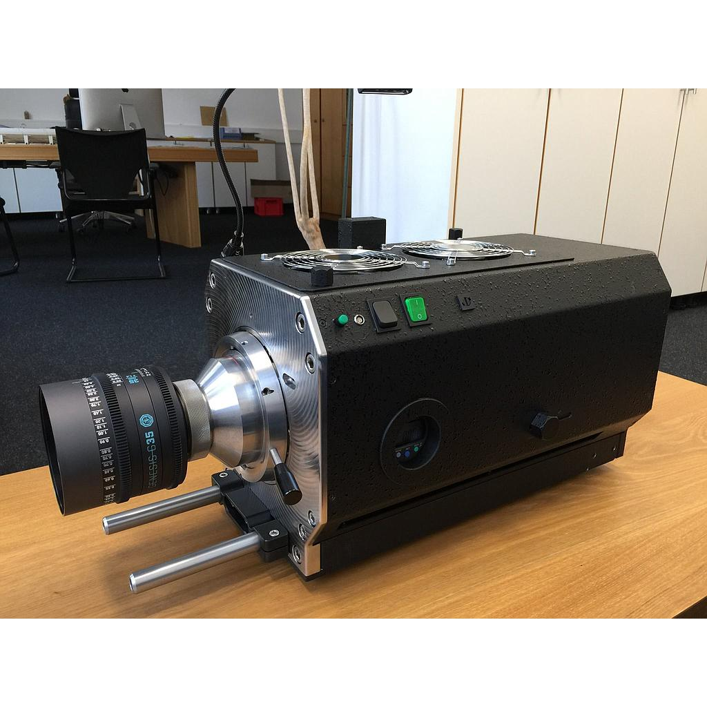 hight resolution of lfl test projector large format