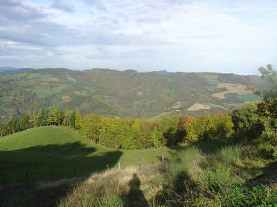 Panorama del sentiero