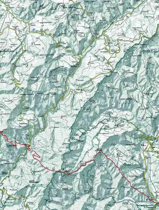 Mappa Ca' di Malanca