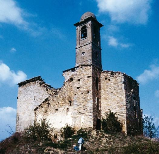 Chiesa di Valmaggiore nel 1991