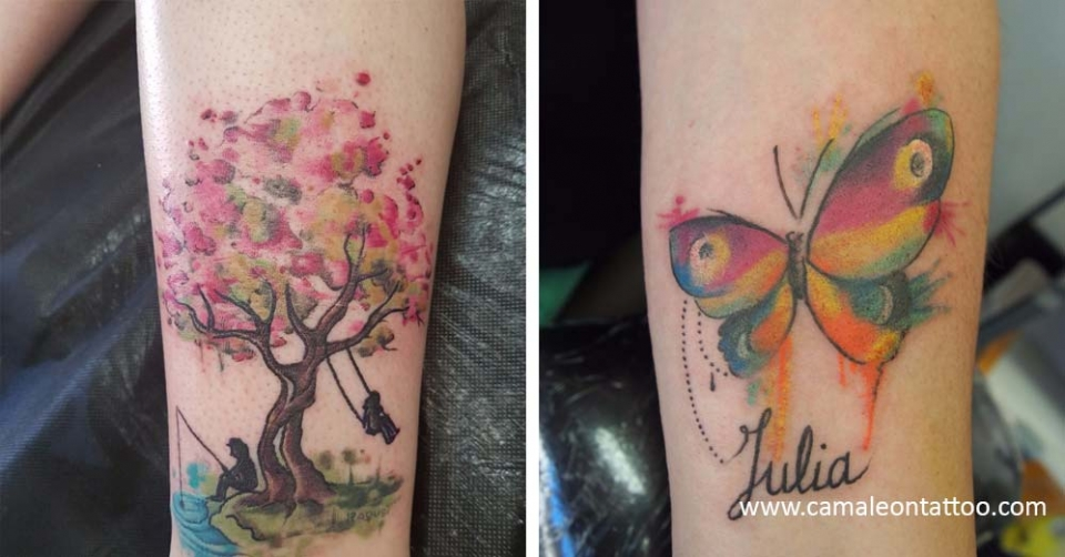 Estilos O Tipos De Tatuaje Camaleon Tattoo