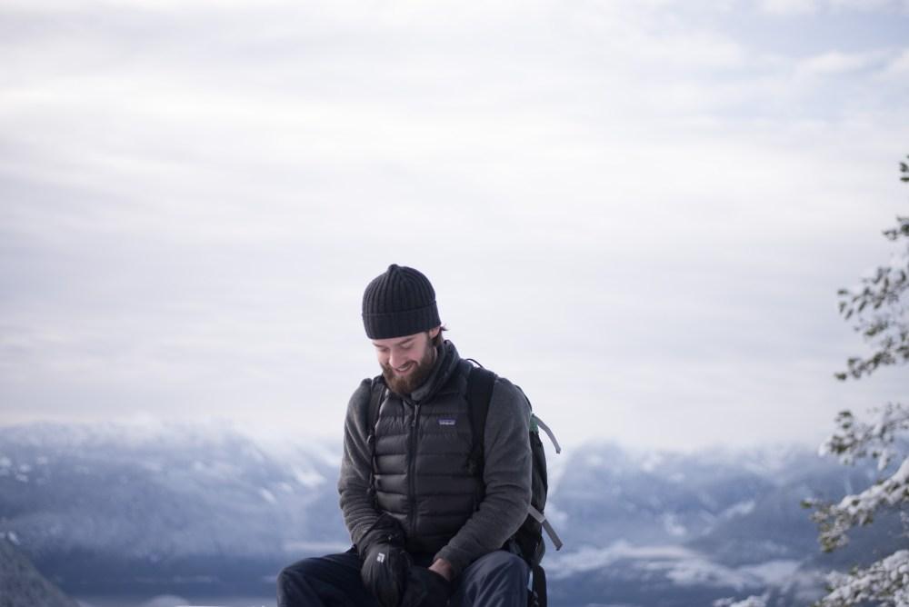 Hiking and snowshoeing at Sea to Sky Gondola in Squamish, British Columbia #explorecanada #camandtay