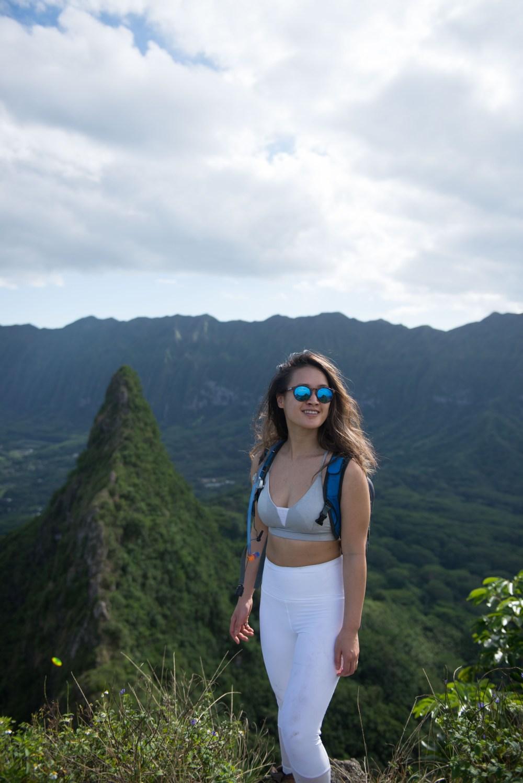 Hikes on Oahu, Hawaii: Olomana Hike - 3 peaks #camlee