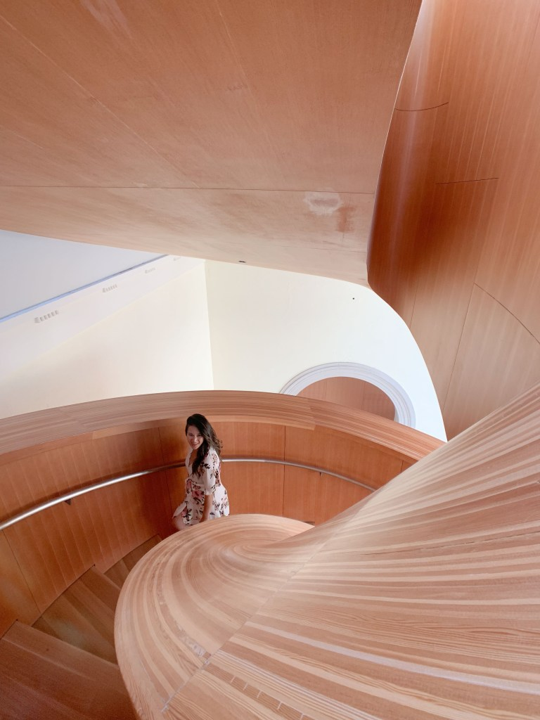 Places to see in Toronto: AGO staircase