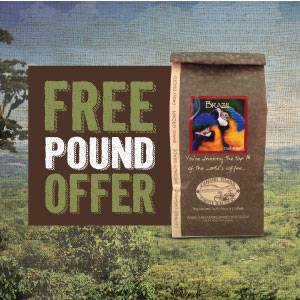 Free Pound of Organic Coffee