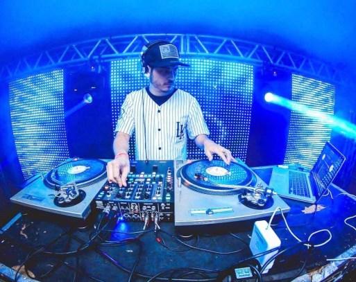 DJ música fone de ouvido LP disco CD profissão