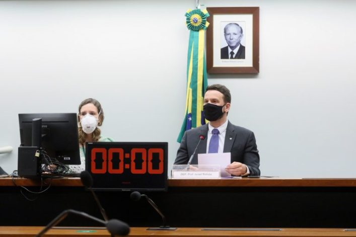 Audiência pública e deliberação de requerimentos. Dep. Professor Israel Batista(PV - DF)
