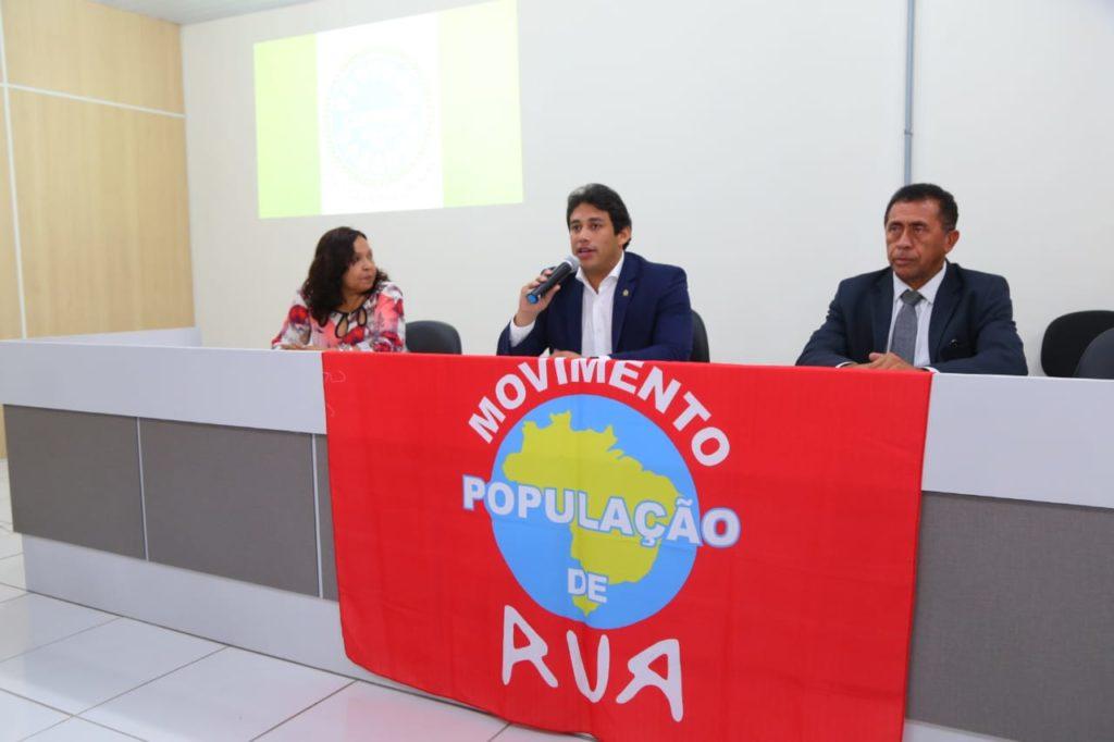 Osmar Filho garante apoio da Câmara ao Fórum Municipal Sobre Drogas