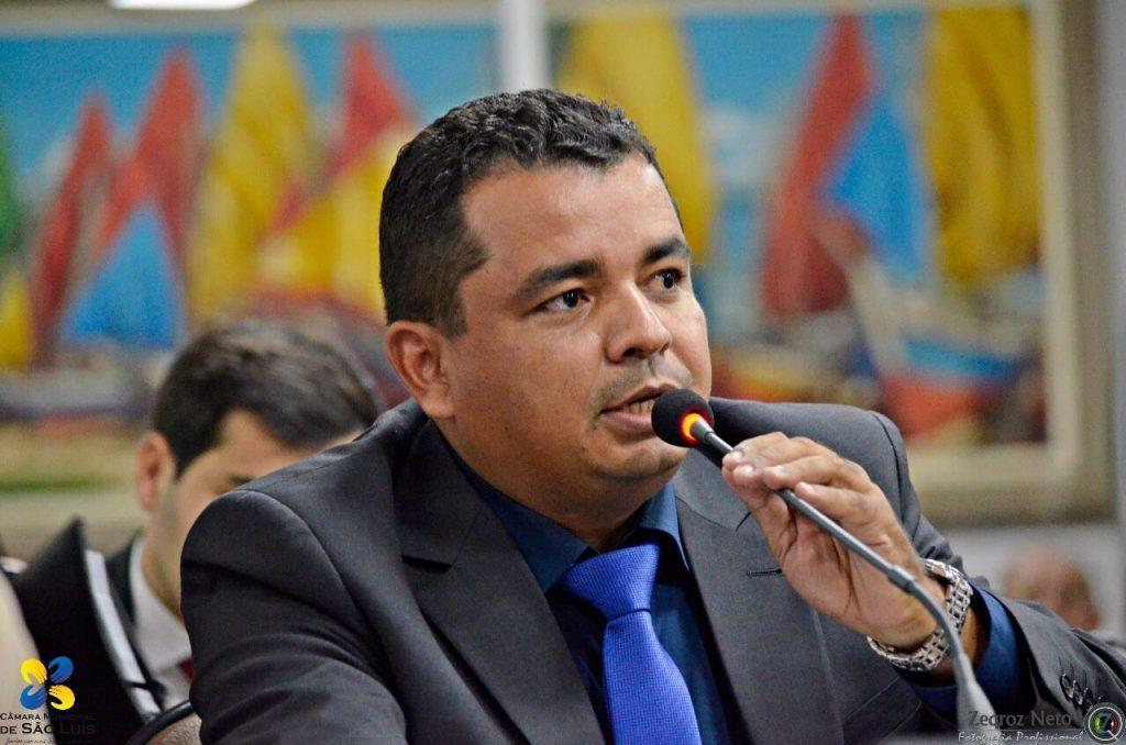 O vereador Edson Gaguinho (PHS)