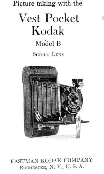 Kodak Vest Pocket Model B