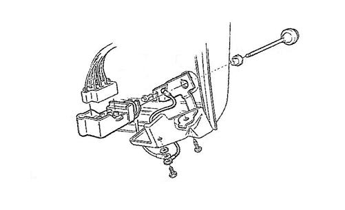 1969 Camaro Dash Headlight Switch and Wiper Switch Ground