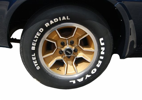 1979 1981 Camaro Five Spoke Mag Aluminum Wheel Rim