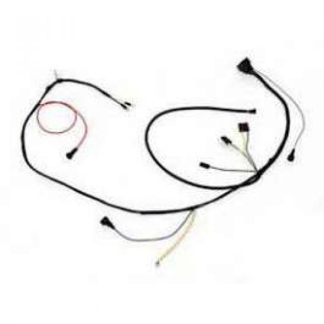 Camaro Engine Wiring Harness, V8, Small Block, With Gauges