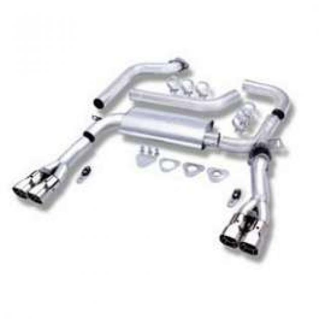 Camaro Exhaust System, Single Cat Back Adjustable, Borla