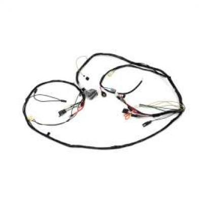 Camaro Front Lighting Wiring Harness, V8, Rally Sport (RS