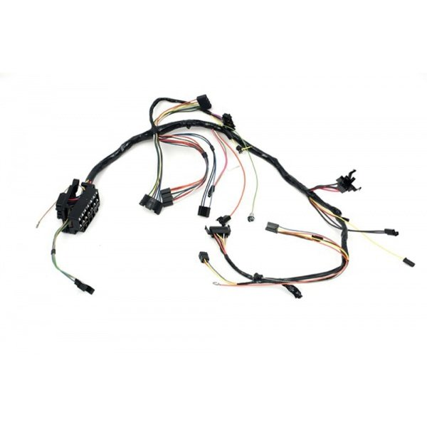 Camaro Underdash Wiring Harness, For Cars With Air