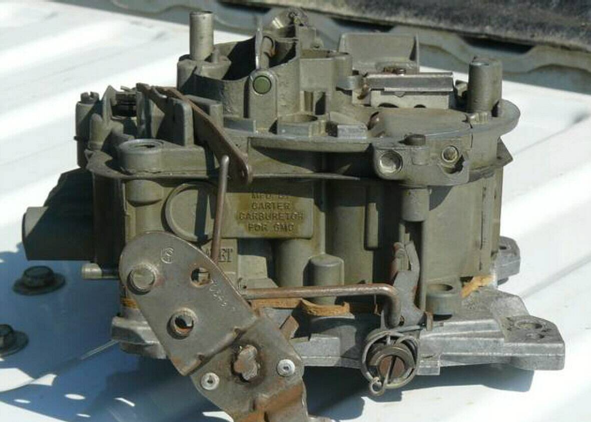 hight resolution of carter carburetors