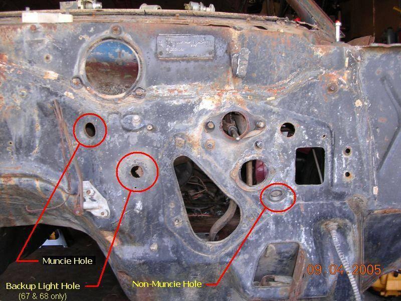 69 mustang wiring diagram 2002 bmw 325i parts 1969 camaro emergency brake hole - team tech