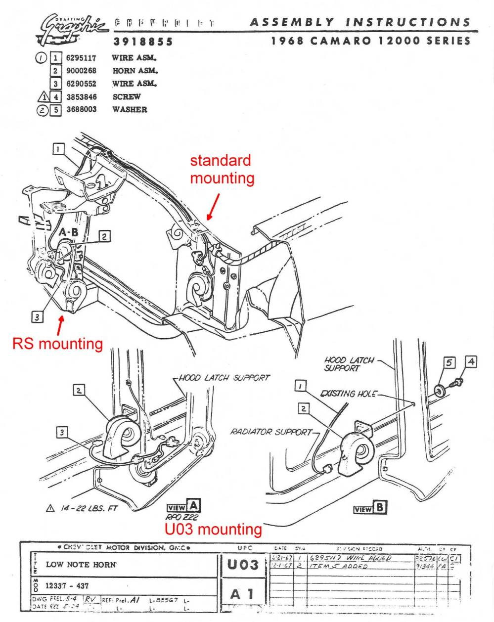 medium resolution of underhood components69 camaro cowl hood wiring diagram schematic 6