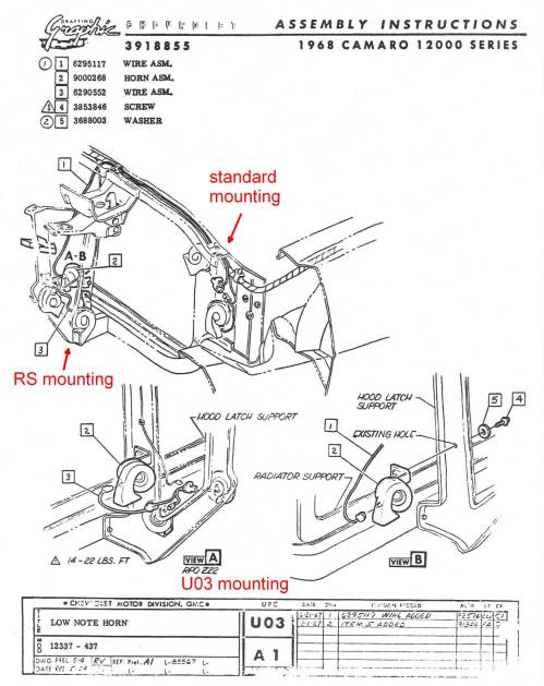 small resolution of underhood components69 camaro cowl hood wiring diagram schematic 6